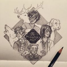 We solemnly swear that we are up to no good ✨  Marauders doodle :) by susanne draws