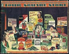 Four Square Products, 1949-50 ~ Old Wellington Region 1 June 2014