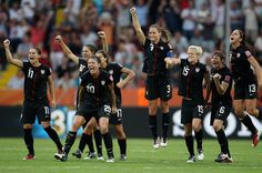 After the win over Brazil. Pure joy.