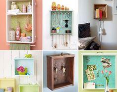 Ideias para reaproveitar gavetas na decoração
