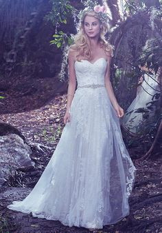 Tulle gown with sweetheart neckline, sheath silhouette, and embellished lace I Style: Bailey I by Maggie Sottero I  https://www.theknot.com/fashion/bailey-maggie-sottero-wedding-dress?utm_source=pinterest.com&utm_medium=social&utm_content=july2016&utm_campaign=beauty-fashion&utm_simplereach=?sr_share=pinterest