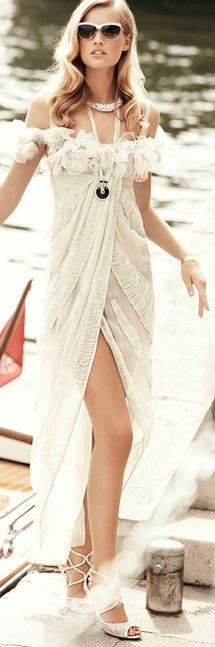 .vestido playero fashion