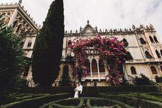 Диана и Евгений @dinya_yuryevich Свадьба в Италии / Lake Garda. ITALY Шелковые ленты Soul House  @_soulhouse_           Wedding Planner @wedding_vsdesign Photo @tatyanacvetkova
