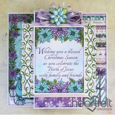 Heartfelt Creations - Blessed Christmas Layers Project