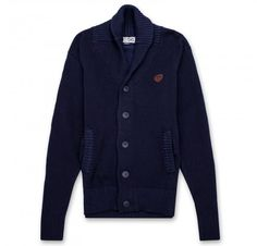 44db484c8b3 Parish Nation Men s Shawl Cardigan (Navy) Mens Shawl Cardigan