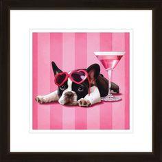 Fancy Dog Framed Wall Art II