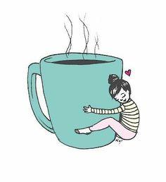 For the Love of Tea Happy Coffee, Coffee Girl, Coffee Is Life, I Love Coffee, My Coffee, Coffee Shop, Coffee Break, Sunday Coffee, Coffee Lovers