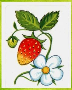 SGBlogosfera. María José Argüeso: Alimentos Wild Strawberries, Watercolor Pencils, Rock Crafts, Fruits And Veggies, Colored Pencils, Flower Art, Strawberry, Clip Art, Nature