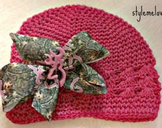 Pink Camo Browning Baby girl Boutique Bow by Stylemelovely33