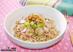 Quinoa con calabacín y nueces