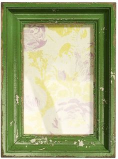 I've just found Vintage Style Green Picture Frame. Antique Vintage Styling. £25.00