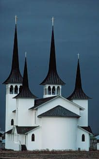 Show your #architectural talent in a community who contributes to world`s innovation on #buildyful.com :-) #students~~Church in Reykjavik, Iceland