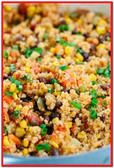 One Pot Mexican Spiced Vegetable Quinoa - This recipe is loaded with bold flavors and healthy ingredients like protein, fiber, and vegetables in each delicious spoonful. Best Quinoa Recipes, Detox Recipes, Vegetarian Recipes, Cooking Recipes, Healthy Recipes, Detox Foods, Rice Recipes, Chicken Recipes, Recipies