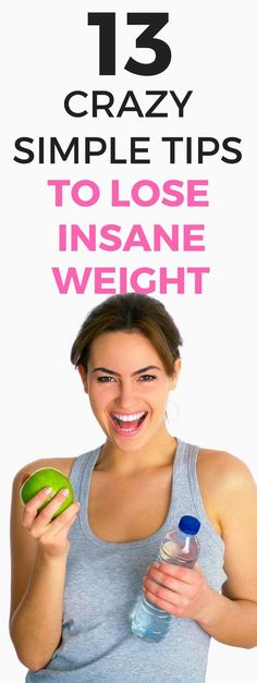 13 crazy simple ways to lose weight fast. Lose Weight Quick, Quick Weight Loss Tips, Weight Loss Help, Lose Weight Naturally, Diet Plans To Lose Weight, Losing Weight Tips, Weight Loss Goals, Weight Loss Program, Reduce Weight