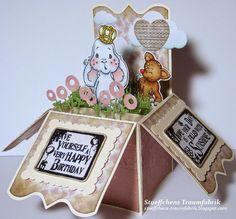 Birthday Box-Card Bunny Prince