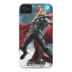 Thor Lunging Attack iPhone 4 Case-Mate Cases | Avengers Age of Ultron