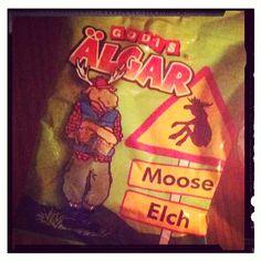 Se hvad jeg har fået! Tak søde @monalogen! #elg #moose #elgfest