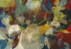 """RIVER'S EDGE"" acrylic on hardboard, 48 x 72"", 2/2012; by Ron Gordon"