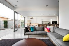 Open-Plan Living Room Photographed by D-MAX Photography