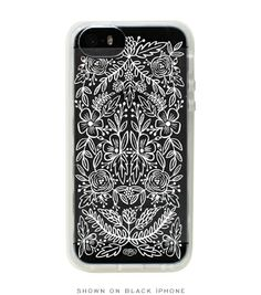 Clear Lace iPhone 5 + 5s  Case via Rifle. Must upgrade to iPhone 5 for this!