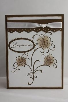 De Stampin' Corner: Wedding Sweet Congratulations Card