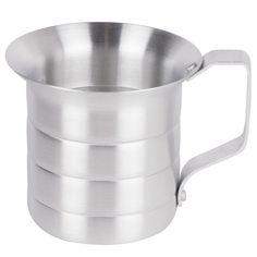 1/2 Qt Liquid Aluminum Measure/Case of 12 Tags:  Measuring Cup; Bakery Tool; Aluminum Measuring Cup;Aluminum Silver Measuring Cup; https://www.ktsupply.com/products/32806350223/12-Qt-Liquid-Aluminum-MeasureCase-of-12.html