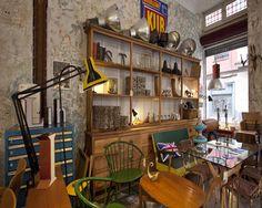 La Brocanterie. Muebles y objetos de decoración. C/ Rodrigo de Guevara 2, Madrid