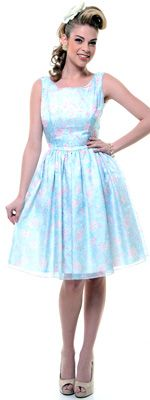 Queen Of Heartz Dainty Floral Pastel Retro Inspired Swing for Arinn?