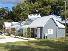 Last June Mr Blankenship of Ozark AL constructed five small homes that are each only 500 sq ft They are 1 bedroom 1 bath with a nice front porch living room and kitchen