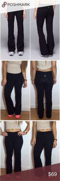 NWOT Lululemon Groove Pant Lululemon Black Groove Pant. -Size 8. -NWOT. No flaws.   NO Trades. Please make all offers through offer button. lululemon athletica Pants