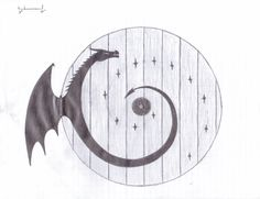 A sketch I did for a hobbit door and dragon hinge. - Imgur