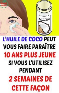 L'huile de coco peut vous faire paraître 10 ans plus jeune si vous l'utilisez pendant 2 semaines de cette façon Other People, Fitness, Beauty Hacks, Beauty Tips, Hair Beauty, Skin Care, Memes, Health, Backgrounds