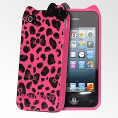 56c43c51129 Hello Kitty iPhone 4 Accessories | Hello Kitty Leopard iPhone 4/4S Cases -  Hot