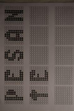 Aggettivo 'Pesante' collegato con l'aggettivo 'Audace e Stretto',ho reso appunto le lettere pesanti.
