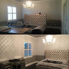 Corner Desk, Hanger, New Homes, Wall Decor, Wallpaper, House, Furniture, Ideas, Home Decor