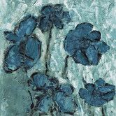 Found it at Wayfair - Tones Flowers Painting Print on Wrapped Canvas