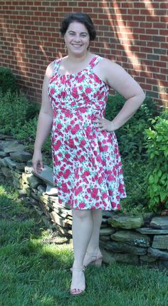 MSL Creations: Finished Sis Boom Jamie Dress