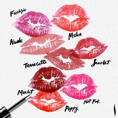 Cute way of previewing lip colors! http://www.marykay.com/lisabarber68 Call or text 386-303-2400