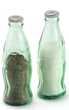 Vintage Inspired Mini Coca Cola Salt and Pepper Shaker Set, Kitchen Gadgets