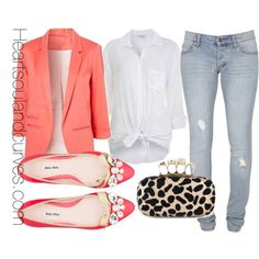Casual Chic, created by adoremycurves on Polyvore