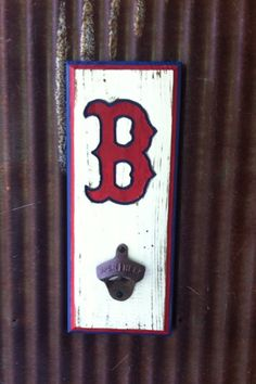 Boston Red Sox Bottle Opener by TreyColeCreations on Etsy, $26.00