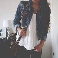 Really want a cute jean jacket!