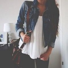 Really want a cute jean jacket!
