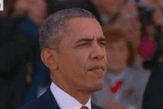 """""""Repugnante"""": Obama enfurece a Internet por masticar chicle en el Día D – RT"""