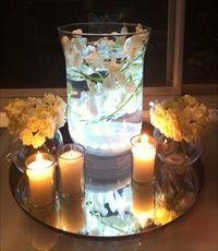 Under Vase Ilunimators will really light up your centerpiece