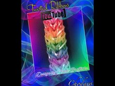 Rainbow Loom Twisted Ribbons Bracelet Tutorial/How to - YouTube Uses 2 looms