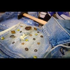 Customised item made in our Pepe Jeans Custom Studio