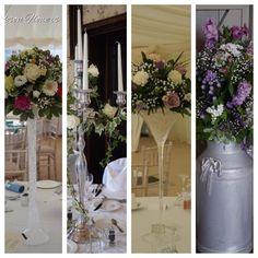 Few options for wedding flowers