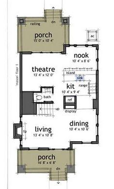 Planos de casas gratis de 2 Pisos, 3 habitaciones en 150 metros cuadrados | Planos de Casas
