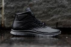 """Nike Free Hypervenom Mid """"Black & Grey"""""""